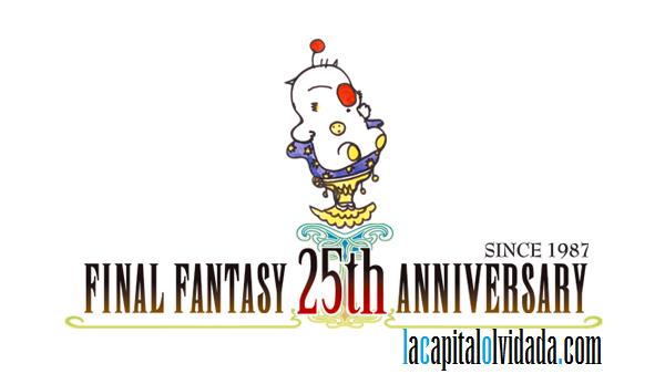Logo Final Fantasy 25 Aniversario