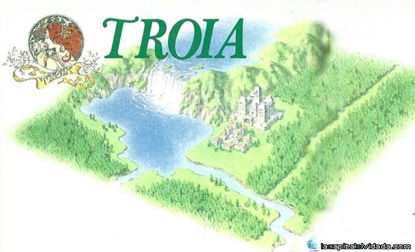 Troia, a vista de pájaro